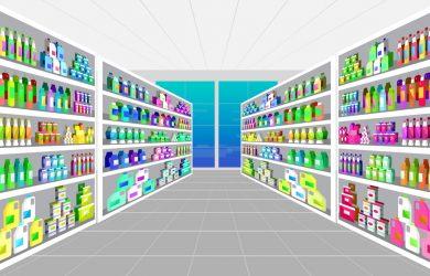 Uurloon en salaris van vakkenvuller supermarkt